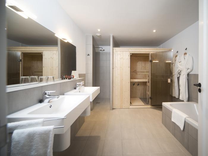 Suite Loft & Spa - hotelkamer met sauna op de kamer